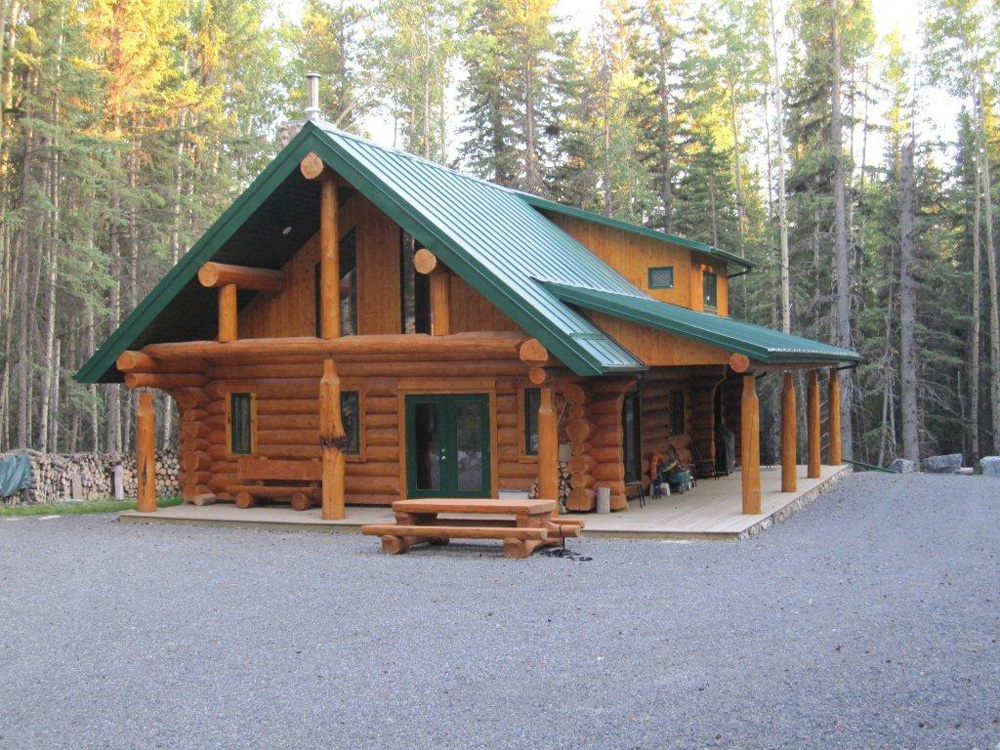 Fabulous Mh Wood Specialties Log Home Builders In Alberta Download Free Architecture Designs Rallybritishbridgeorg