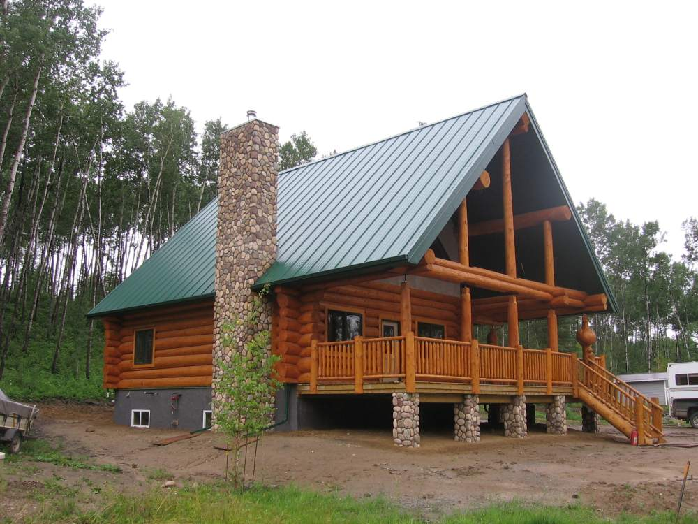 Excellent Mh Wood Specialties Log Home Builders In Alberta Download Free Architecture Designs Rallybritishbridgeorg